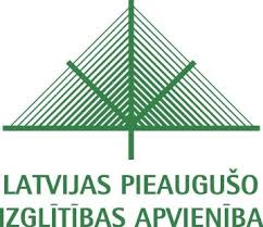 Latvian Adult Education Association logo